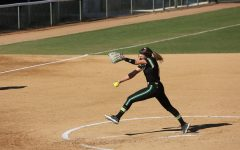 Sac State senior pitcher Jensen Main throws a pitch against UC Santa Barbara at Shea Stadium on Sunday, Feb. 9. The Hornets went 2-3 in the Golden State Classic tournament this weekend.