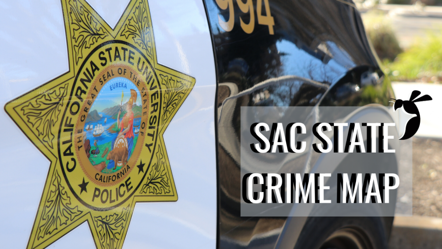 CRIME MAP: 6 hit-and-runs reported at Sac State, multiple citations for possession of marijuana