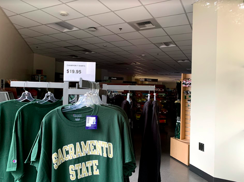 The Store in the University Union at Sacramento State laid off all student employees in an email sent out Thursday, stating their last day of employment would be Friday. The email cited the shift to online classes due to coronavirus fears.