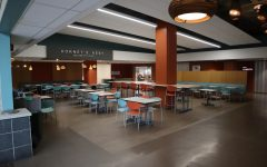 Seen here is the Hornet's Nest located inside the University Union at Sac State Monday March 16th, completely empty.