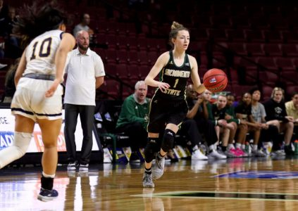 Women's basketball team cruises in exhibition win over Hawks 92-55