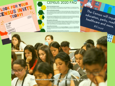 Screenshot via Instagram and YouTube.  Sacramento State's Associated Students Inc. board members seek to encourage students to participate in the census via social media platforms such as Instagram.