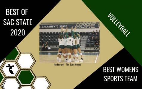 Sac State volleyball team voted 2020 'Best Women's Sports Team'