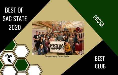 PRSSA voted Sac State's 'Best Campus Club' of 2020