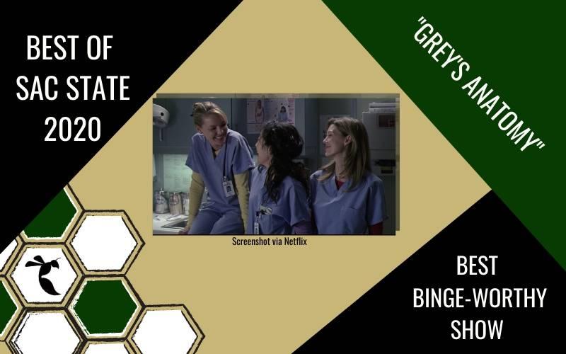 Sac State students vote 'Grey's Anatomy' as most binge-worthy show