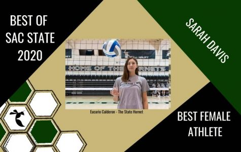 Volleyball player wins 2020 'Best Female Athlete' at Sac State