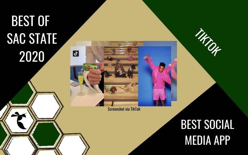 TIkTok voted 'Best App' in Best of Sac State 2020 poll