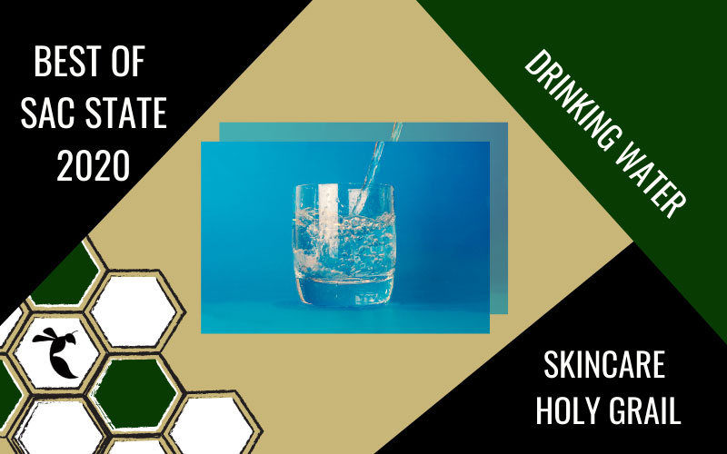 SKINCARE HOLY GRAIL: Drinking water