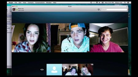 "Five friends start a normal Skype call that turns into a fight for their lives in ""Unfriended."" Photo courtesy of Universal Pictures."