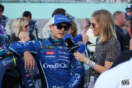 Kyle Larson is back in NASCAR six months after using the n-word in a virtual racing event, but has he done enough to warrant this second chance (Photo by Zach Catanzareti) CC BY-SA 2.0