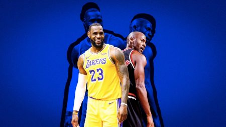 """File:LeBron James Lakers.jpg"" by All-Pro Reels is licensed under CC BY-SA 2.0, ""File:Phil Jackson Lipofsky.JPG"" by Steve Lipofsky www.Basketballphoto.com is licensed under CC BY-SA 4.0. Photo Illustration by Rahul Lal."