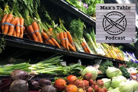 Organic local produce in a local Sacramento Bel Air store. This week on Max