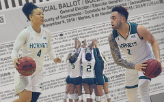 The Big Sky Conference told all of its member schools to give athletes the day off Nov. 3 to allow student-athletes the opportunity to vote on Election Day. Photos by Shaun Holkko, Luis Platero and Ian Edwards. Graphic made in Canva.