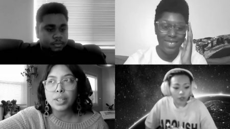 Sacramento State's Student Social Justice and Equity Council held a student forum to start a conversation about police brutality and to share student perspectives, experiences and thoughts concerning police violence Monday, Nov. 9 via Zoom. Screenshots taken by Gerardo Zavala via Zoom.