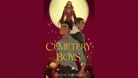 """Cemetery Boys"" by Aiden Thomas released on September 1, 2020, made history when it was the first book to reach the New York Times Best Seller list with an out transgender author. Book cover by Feiwel & Friends."