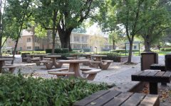 Sacramento State's campus and quad is vacant Tuesday, Oct. 6, 2020. Sac State President Robert Nelsen announced plans to reduce the number of students and employees on campus Friday.