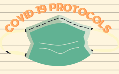 The Sac State IIPP COVID-19 Safety Plan protocols for students and faculty on campus are assembled to reduce the risk of a COVID-19 infection, but cannot guarantee that the spread of the infection will not occur. Graphic made in Canva by Jenna Cooper and Emmely Ramirez.