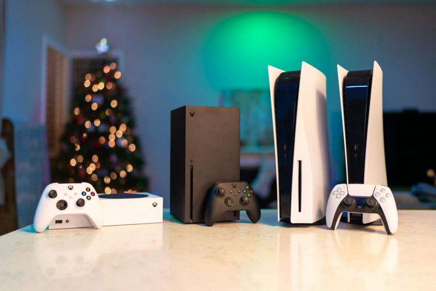 Left to Right: The Xbox Series S, Xbox Series X, PlayStation 5, and PlayStation 5 Digital Edition have officially begun the next generation of gaming. With lighting fast loading times, ray tracing, 120 frames per second, and near silent fan speeds across all systems, these consoles are aimed at removing as many barriers from the gamer to the game.
