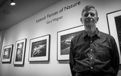 Northern California photographer Gary Wagner poses in front of his