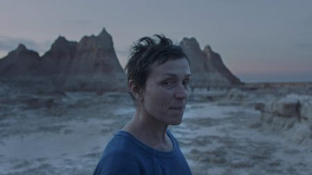 "Frances McDormand stars in ""Nomadland,"" one of the films Bradley Hinkson lists as the best of the year. Photo courtesy of Searchlight Pictures."