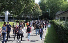 Sacramento State students walking on campus by Mendocino Hall in September 2019. The California State University system's chancellor Joseph Castro reaffirmed that the CSU plans to return to a majority in-person instruction for fall 2021 at the CSU Board of Trustees meeting Tuesday.