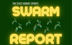 Each day The State Hornet will recap all the action from the day of sports at Sacramento State. Sunday Sac State baseball dropped the rubber match of their series to Arizona State and women's tennis fell to UC Davis, remaining winless. Graphic by Max Connor
