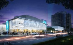 A digital rendering of the renovated SAFE Credit Union Performing Arts Center, which will now serve as a location for large-scale events such as conventions, conferences, and statewide events. Render by David Jones. Photo courtesy of SAFE Credit Union Perfect Arts Center.