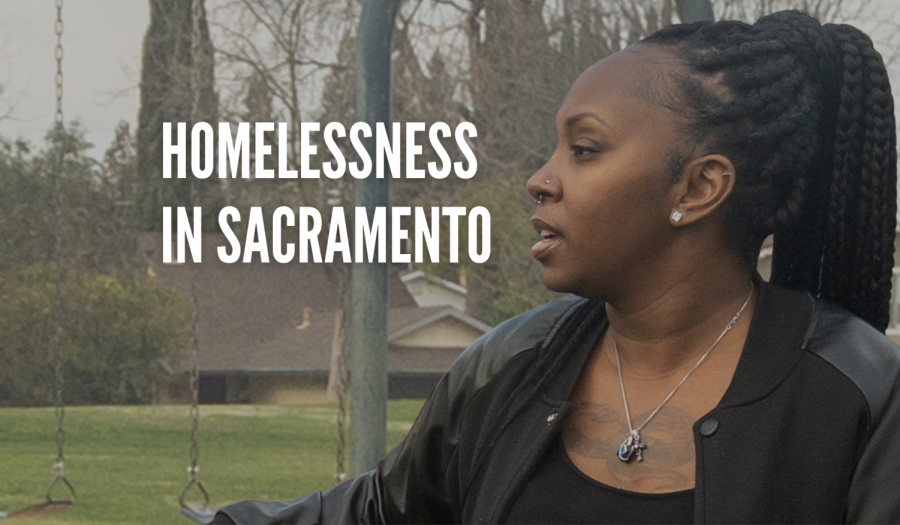 Kizzie Anderson, a Sacramento resident, shares her experience being homeless on Wednesday, March 3, 2021. Anderson said she struggled to find housing because of her credit and issues with the law.