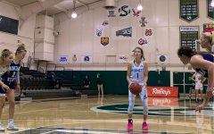 Sacramento State's junior guard Milee Enger prepares to shoot a free throw in a game at the Nest against Montana State University on Wednesday, March. 3, 2021. Enger had a career-high 24 points.