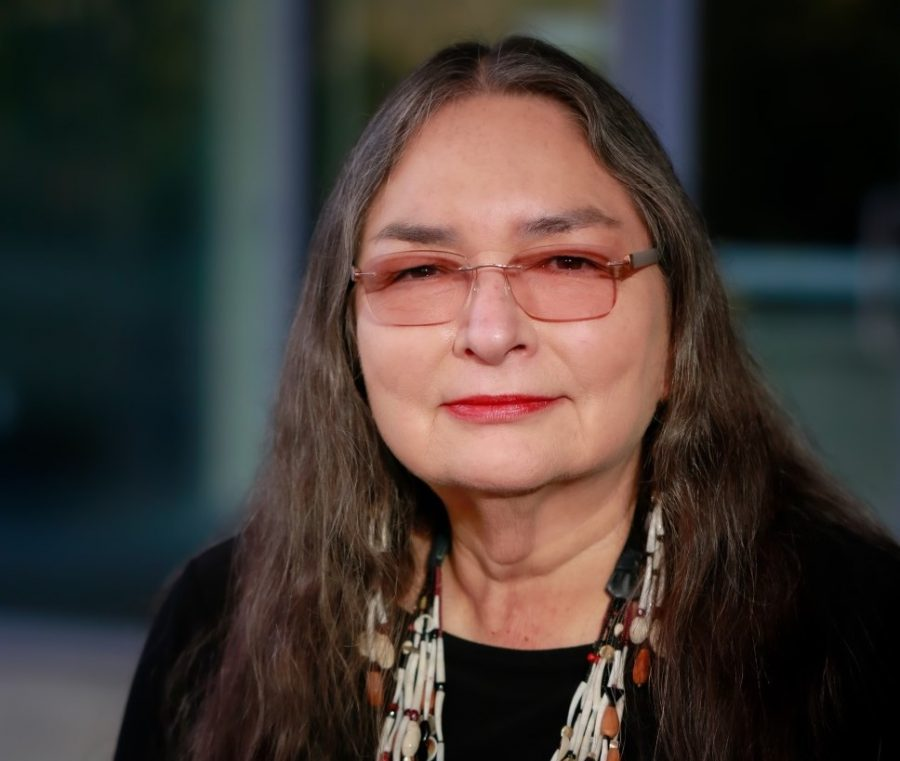 Annette Reed, Tolowa Dee-ni', sits as chair of Ethnic Studies at Sacramento State. Working at the university since 1998, Reed previously served as director of Native American studies at Sac State. Photo courtesy of Annette Reed.