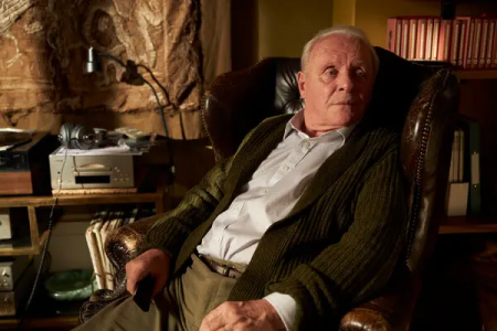 "Anthony Hopkins in ""The Father"". Hopkins won the Best Actor award at this year's Oscars but his win left the ceremony on an odd note. Photo courtesy of Sony Pictures Classics."