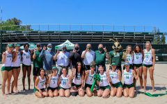 Sac State beach volleyball unveils 'Hornet Beach' with ribbon-cutting