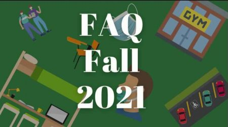 It's been over a year since all Sacramento State classes went remote due to the COVID-19 pandemic, many students are planning on returning to campus for the first time in the fall 2021 semester. The State Hornet compiled answers to frequently asked questions about the fall semester's COVID-19 regulations, on-campus services and more. Graphic created in Canva.