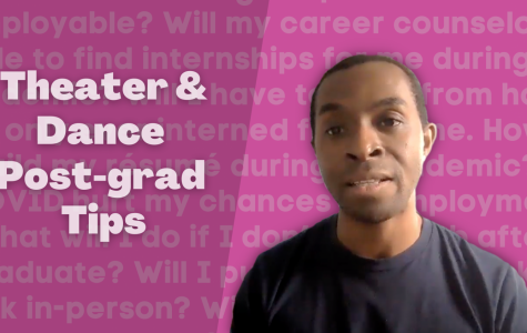 Dance professor gives advice for graduating theater and dance students