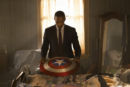 Anthony Mackie plays Falcon/Sam Wilson in Marvel Studios