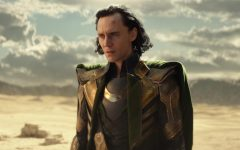 """Loki (Tom Hiddleston) in Marvel Studios' """"Loki,"""" exclusively on Disney+. Loki is the first character to be gender fluid in the MCU, meaning their gender identity falls outside the binary construct. Photo courtesy of Marvel Studios. ©Marvel Studios 2021. All rights reserved."""