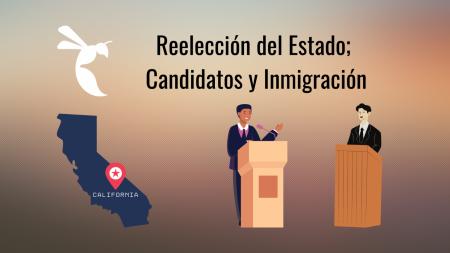 La elección de reemplazar el gobernador del estado será determinada el 14 de Septiembre, 2021. El State Hornet creó una lista describiendo cómo cada candidato contraloría inmigracion en el estado.