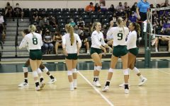 Sacramento State Hornets volleyball team wins 2 of 3 games to make it to the tournament championship on Saturday, Sept. 11, 2021. The Hornets hosted a four-team tournament made up of Boise State, CSU Northridge, University of the Pacific, and themselves.
