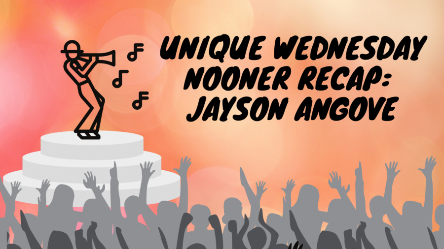 """Sacramento State's UNIQUE program hosted Jayson Angove as part of their """"nooner"""" on Wednesday, Sept. 8 to showcase music talent. Angove is an indie alternative rock artist who is also part of the Roseville-based band Humble Wolf"""