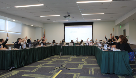 Associated Students, Inc.'s Board of Directors unanimously votes to call for Sac State to remove the mention of Columbus Day from the academic calendar on Oct. 6, 2021. Sac State's Ensuring Native Indian Traditions club also called for the removal of Columbus Day from the calendar.
