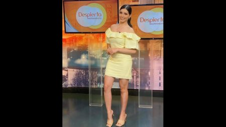 State Hornet alumna Aranza Mora at Univision's Despierta Sacramento on Oct. 5, 2021. Mora talked to managing editor Magaly Muñoz about her struggles with being a Hispanic woman in broadcast media.